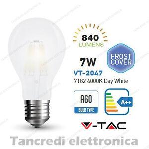 Lampadina-led-V-TAC-7W-E27-bianco-naturale-4000K-VT-2047-A60-bianca-filamento