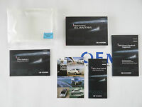 2012 Hyundai Elantra Owners Owner Manual Set With Case