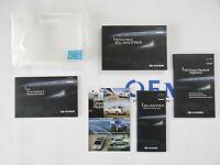 2012 Hyundai Elantra Owners Owner Manual Set With Case