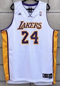 Details about New LA Lakers Kobe Bryant #24 Jersey Mens XXL 2 Swingman Adidas NBA Authentic