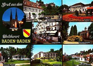 Baden-Baden-Ansichtskarte