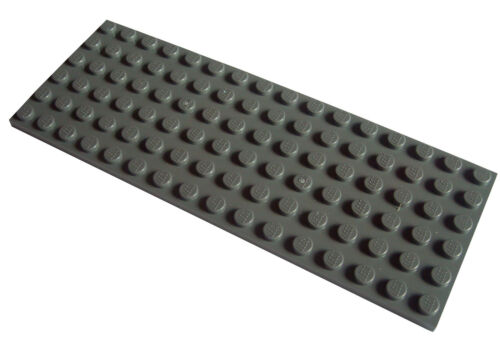 disco 6x16 3027 NUOVO DISCHI Basics Dark Bluish Gray LEGO 2 pezzi Grigio Scuro