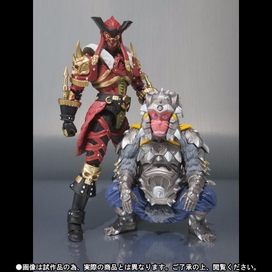 S.H.Figuarts Kaizoku Sentai Gokaiger VASCO & SALLY Action Figure BANDAI Japan