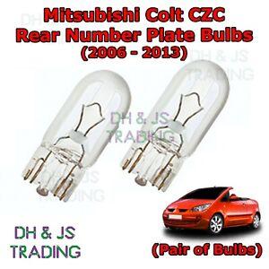 Interior Light LED replacement kit for MITSUBISHI COLT 3 pcs COOL WHITE 6000K