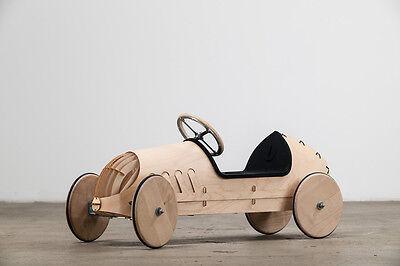 Rutschauto flink Bausatz Holz Auto Kinder Rennauto Rennwagen Rutscher nachhaltig