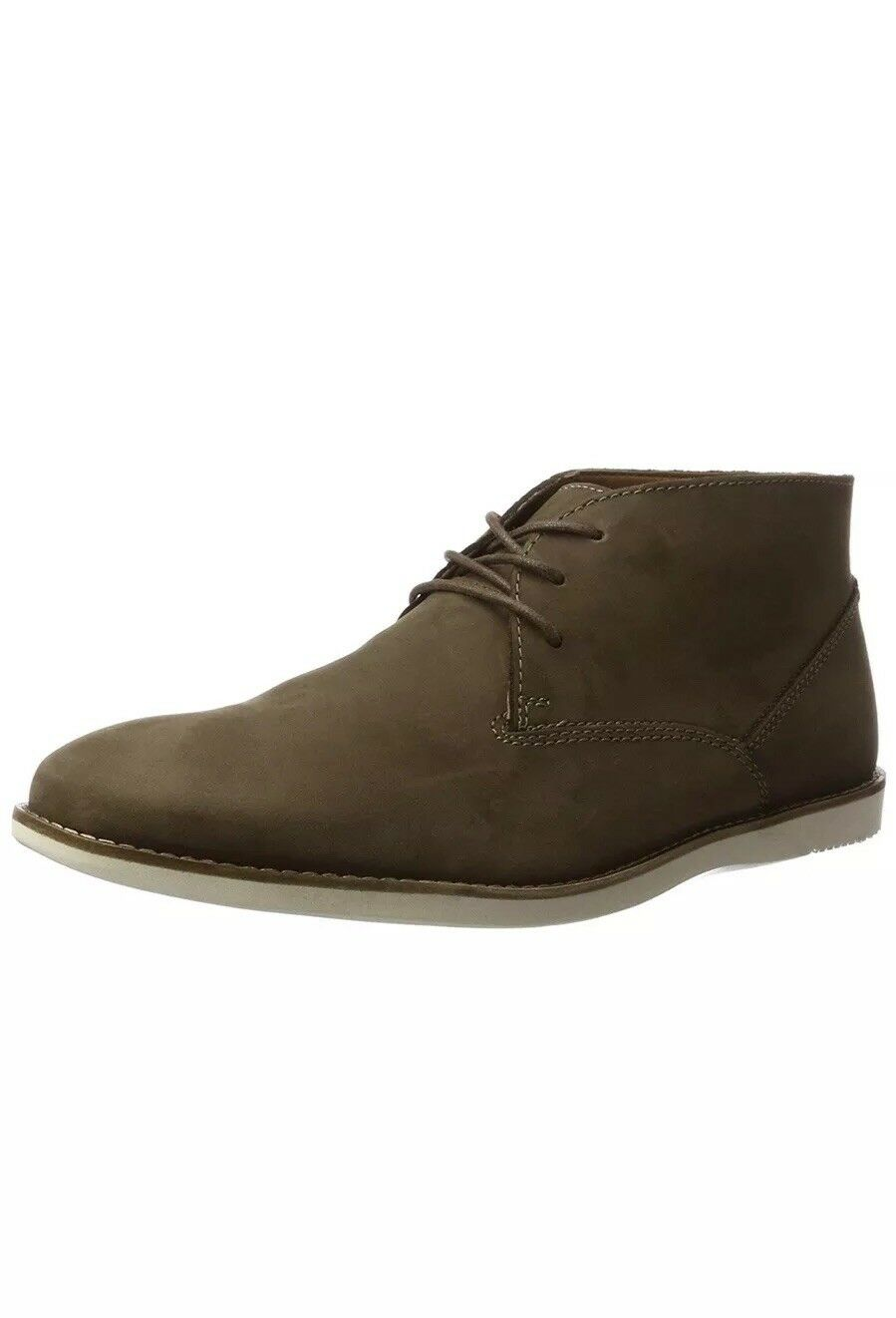 Clarks Men's Franson Top Chukka Boots [3007] UK 12 Brown