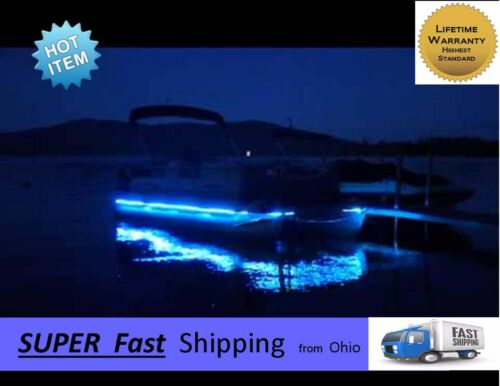 32ft TOTAL -- GREEN boat led light kit