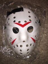 FREDDY KRUEGER Vs Jason Voorhees Maschera Prop Hockey Bianco Halloween Spaventoso Vampier