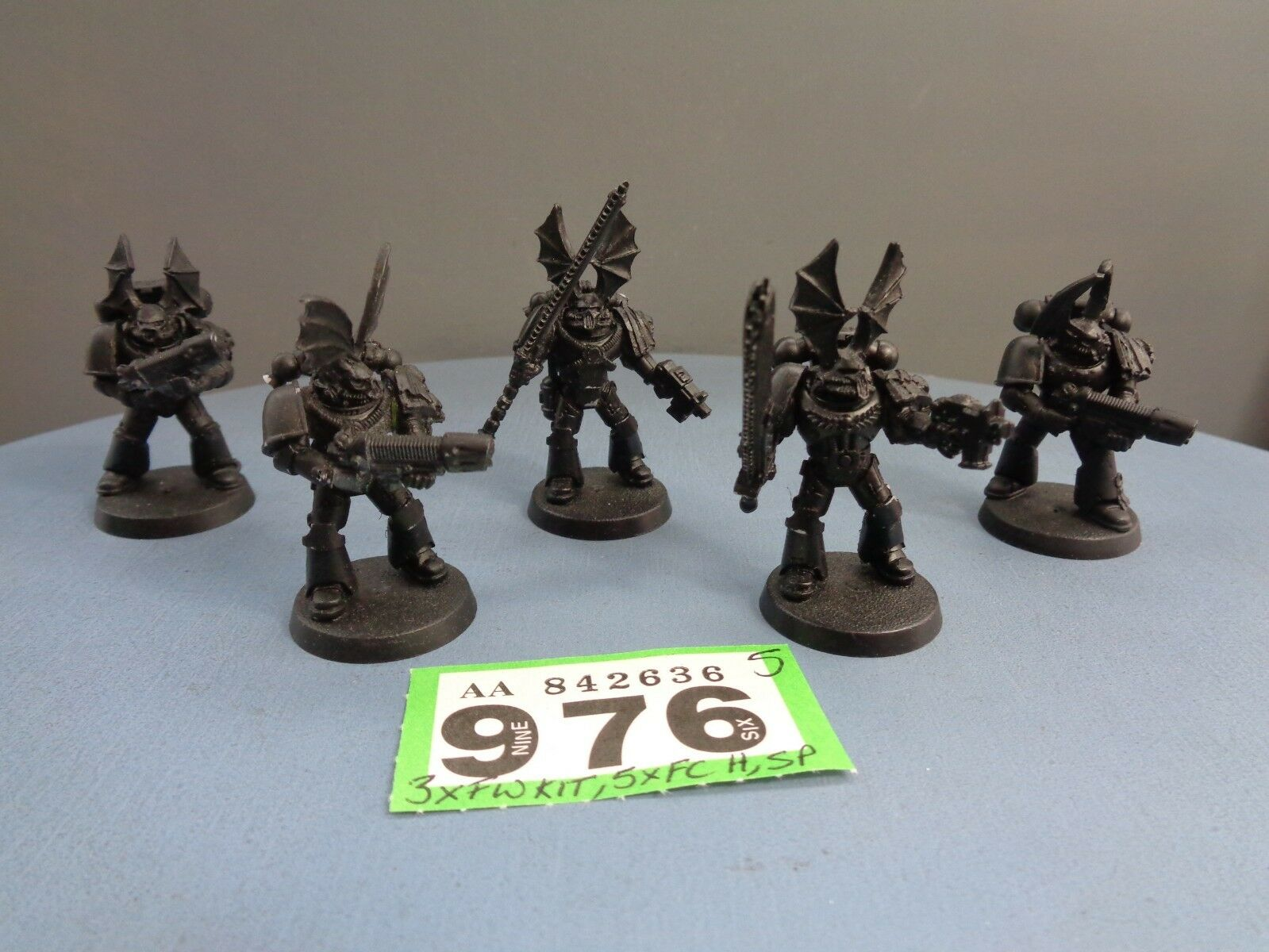 Warhammer 30,000 40,000 Space Marines Forge World Parts Night Lords Squad 976