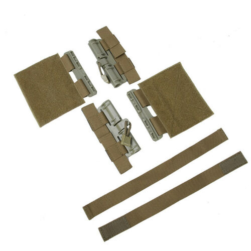 The Mercenary Company Quick Disconnect Side Entry Conversion for Plate Carriers