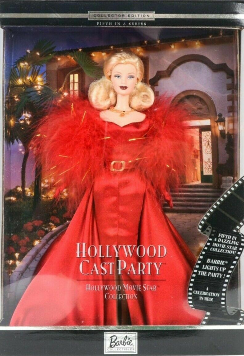 @-BARBIE CAST PARTY HOLLYWOOD MOVIE STAR COLLECTION DESIGNER COUTURE  OVP