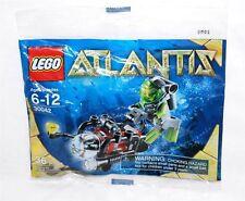 30042 ATLANTIS SCUBA DIVER promo city lego minifigure NEW poly bag legos set