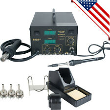 2 In1 Hot Air Gun Unit Soldering Rework Station Welding Solder Machine Safe Use