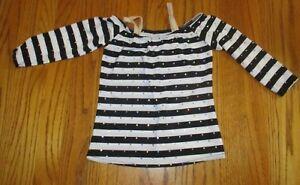 A-Wish-Come-True-black-white-sequin-stripe-dance-top-ISC-6X-7-girl-jazz-tap