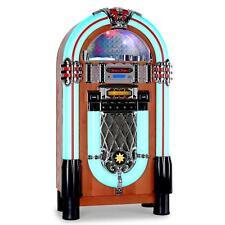 [OCCASION] JUKEBOX MUSIC BOX LOOK RETRO AUNA GRACELAND XXL LECTEUR CD USB MP3 SD