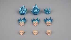 Demoniacal Fit Upgrade Transparent Hair SS Yellow for SHF Goku Vegeta IN STOCK