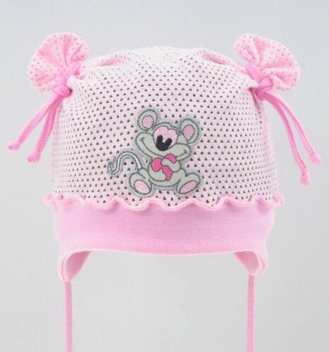 100/% Cotton girls sun bonnet hat spring summer mesh 0-18 months BABY GIRL KIDS