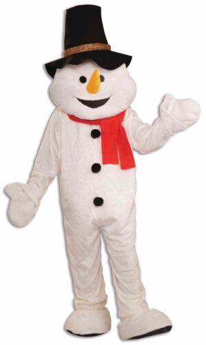 Forum Novelties Snowman Mascot Quality Costume top Hat White Standard to XXL