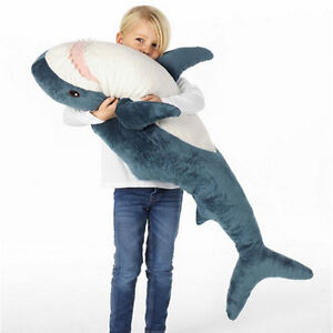 ... Big-Shark-Plush-Soft-Toy-Cushion-39-034-