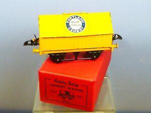 O Scale Model Railroads & Trains Hornby 'o' Gauge 'blue Circle Portland Cement' Wagon 42115 Mint Boxed