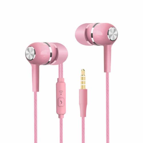 3E09 Headset Kopfhörer 3,5 Mm Mit Mic In-Ear Sport Computer Für Samsung