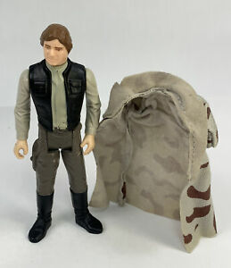 1984 Star Wars Vintage Complete Han Solo Trench Coat Figure
