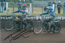 PAUL COOPER HAND SIGNED SCUNTHORPE SCORPIONS SPEEDWAY 6X4 PHOTO 4.