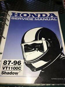 GENUINE-HONDA-SERVICE-SHOP-MANUAL-VT1100C-shadow-1987-1996-Ry21a