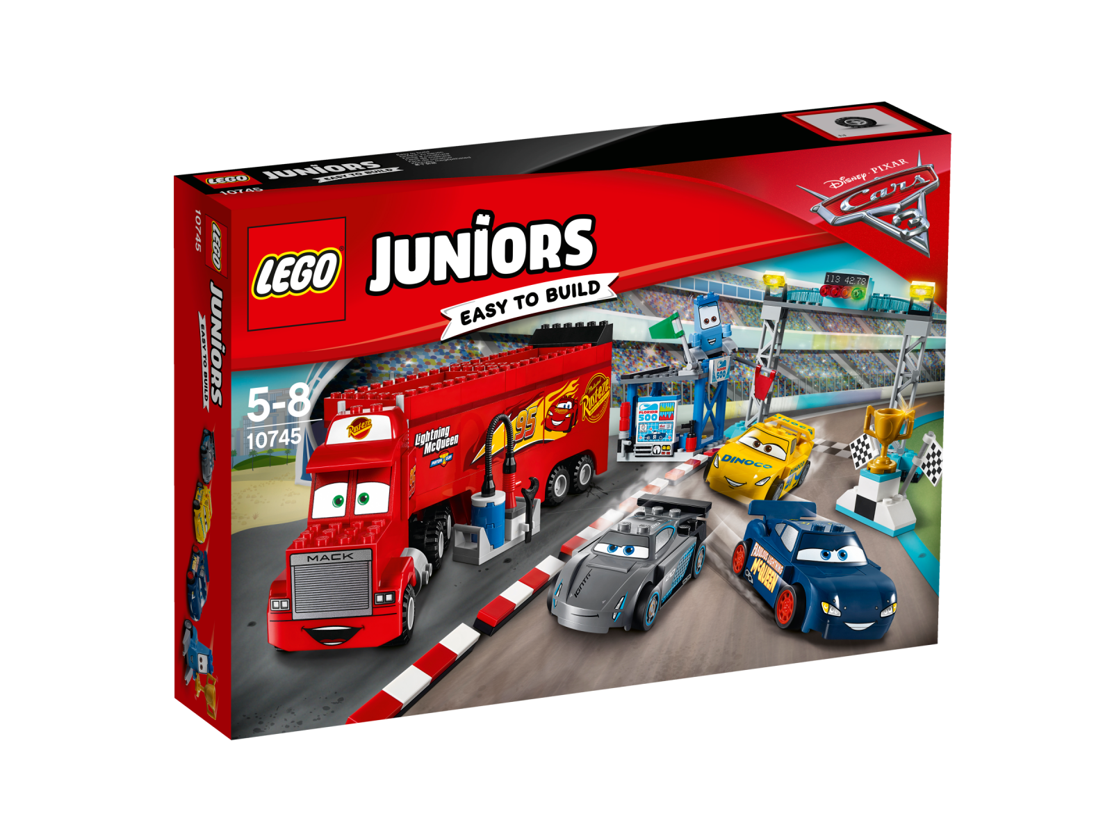 LEGO® Juniors 10745 Finale Florida 500 NEU OVP_ Florida 500 Final Race NEW MISB  | Stil