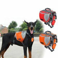 Suitable for 39 lb PAWABOO Dog Backpack 60 lb Pets. Pet Adjustable Saddle Bag Harness Carrier for Traveling Hiking Camping