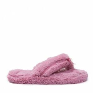 Faux Fur Thong