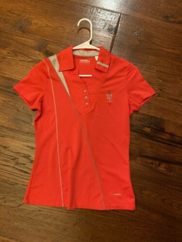 Annika Red Tennis Shirt in Women's Size XS