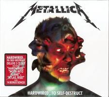 Metallica Hardwired To Self-Destruct CD + Bonus Songs Live 2-disc Set in Box