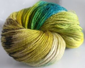165g-OF-3-PLY-HAND-DYED-100-KNITTING-WOOL-2-SKEINS-CW-TEMPEST
