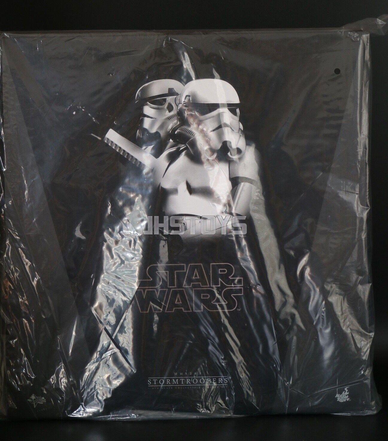 Hot Toys 1/6 Star Wars Stormtroopers Episode IV 4 Storm Trooper Set MMS268