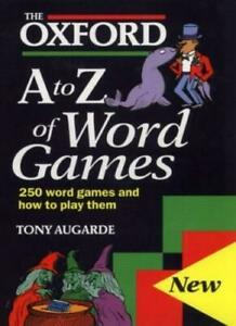 The-Oxford-A-to-Z-of-Word-Games-By-Tony-Augarde-Oxford-University-Press