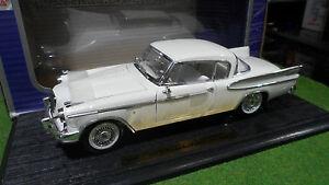 STUDEBAKER-GOLDEN-HAWK-1957-Blanc-au-1-18-ANSON-30384-voiture-miniature