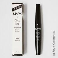 1 Nyx Doll Eye Mascara de02 Volume Joy's Cosmetics