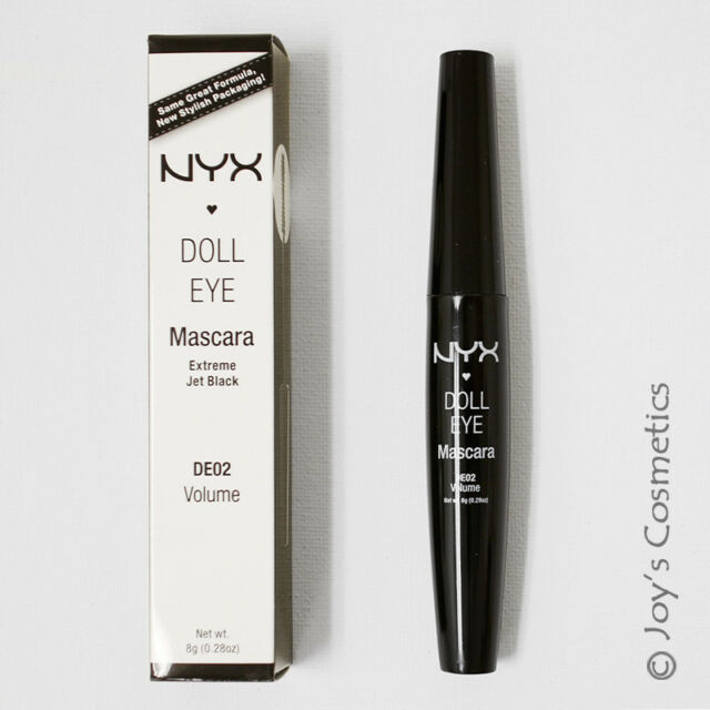 12916aac426 NYX Cosmetics Doll Eye Mascara DE02 Volume Extreme Black 8g for sale ...