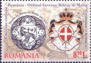 2012-Cristianesimo-e-araldica-Romania-francobollo-singolo
