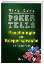 Poker Tells Psychologie und Körpersprache am Pokertisch Profi Texas Holdem Buch
