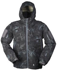 Hardshell Jacke Breathable mandra nigth, Regenjacke, Army, Outdoor, Jagd   -NEU-