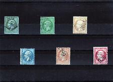 1862 Napoléon III  n° 19 -> 24   (11-095.14)