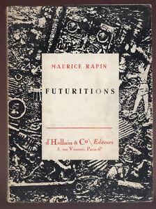 MAURICE-RAPIN-FUTURITIONS-DEDICACE