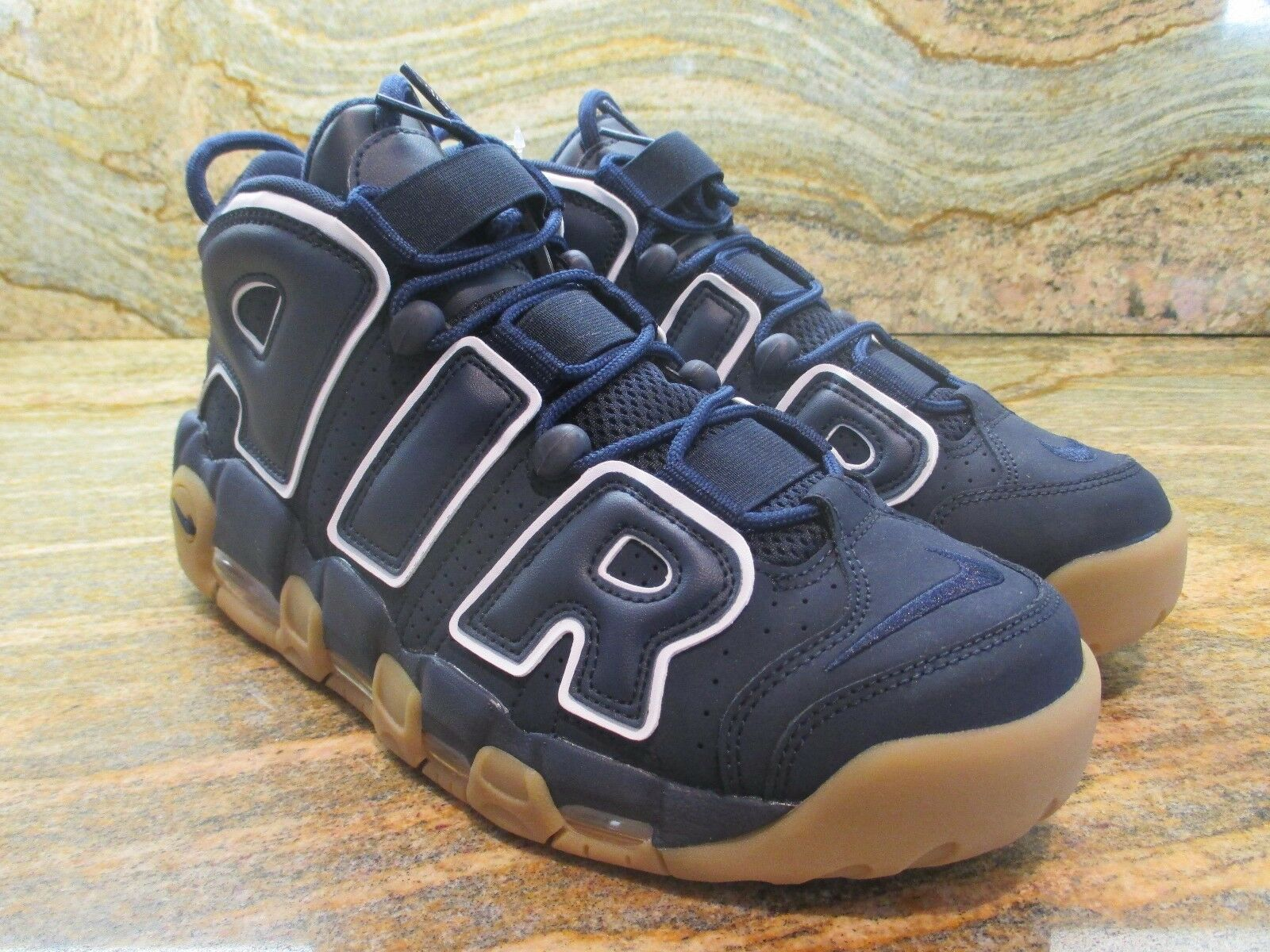 2017 Unreleased Nike Air More Uptempo Sample SZ 9 Obsidian Gum Pippen 921948-400
