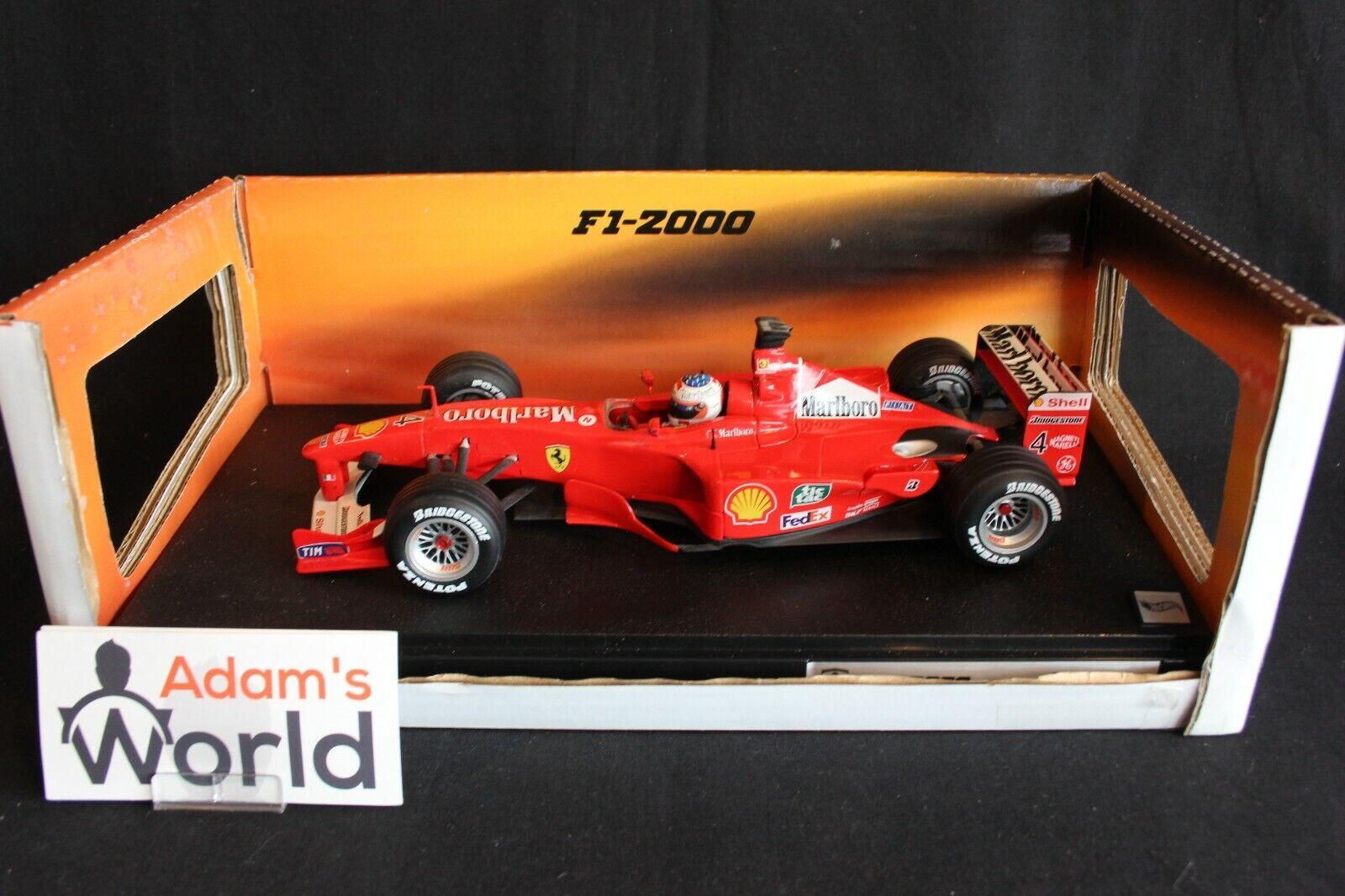 Hot Wheels Ferrari F-2000 2000 1 18  4 Rubens Barrichello  Marlboro  (PJBB)
