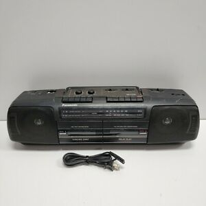 Vintage Panasonic RX-FT510 Boombox Ghetto Blaster Cassette Player AM/FM Radio