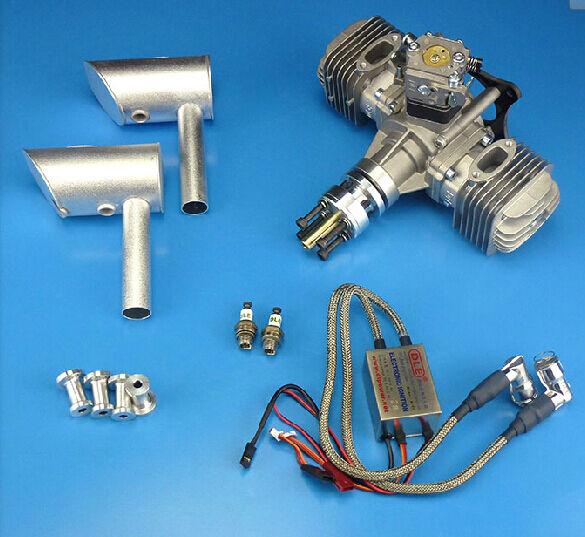 DLE60cc motor de gasolina libre EMS envío expreso