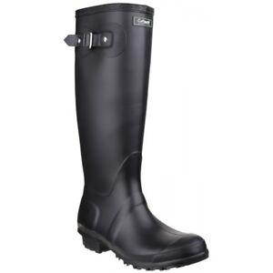 Cotswold-SANDRINGHAM-Womens-Ladies-Waterproof-Wellies-Wellington-Boots-Black-New
