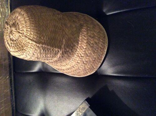 Vintage Straw Woven Wicker Cap,unisex - image 1